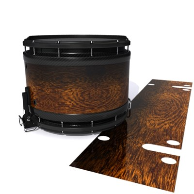 System Blue Professional Series Snare Drum Slip - Caramel Rosewood (Neutral)