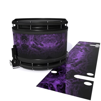 System Blue Professional Series Snare Drum Slip - Coast GEO Marble Fade (Purple)