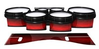 System Blue Professional Series Tenor Drum Slips - Active Red (Red)