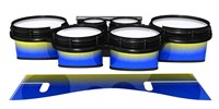 System Blue Professional Series Tenor Drum Slips - Afternoon Fade (Blue)
