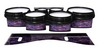 System Blue Professional Series Tenor Drum Slips - Alien Purple Grain (Purple)