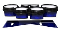 System Blue Professional Series Tenor Drum Slips - Andromeda Blue Rosewood (Blue)