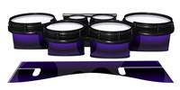 System Blue Professional Series Tenor Drum Slips - Antimatter (Purple)
