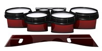 System Blue Professional Series Tenor Drum Slips - Apple Maple Fade (Red)