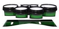 System Blue Professional Series Tenor Drum Slips - Asparagus Stain Fade (Green)