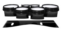 System Blue Professional Series Tenor Drum Slips - Asphalt (Neutral)