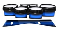 System Blue Professional Series Tenor Drum Slips - Azure Stain Fade (Blue)
