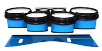 System Blue Professional Series Tenor Drum Slips - Bermuda Blue (Blue)