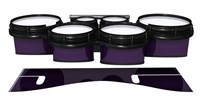 System Blue Professional Series Tenor Drum Slips - Black Cherry (Purple)