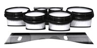 System Blue Professional Series Tenor Drum Slips - Black Magic Fade (Neutral)