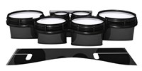 System Blue Professional Series Tenor Drum Slips - Black Stain (Neutral)