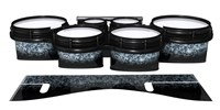 System Blue Professional Series Tenor Drum Slips - Blue Ridge Graphite (Neutral)