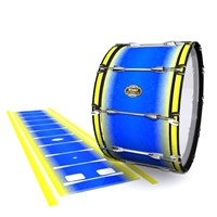 Tama Marching Bass Drum Slip - Afternoon Fade (Blue)