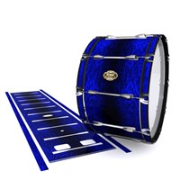 Tama Marching Bass Drum Slip - Andromeda Blue Rosewood (Blue)