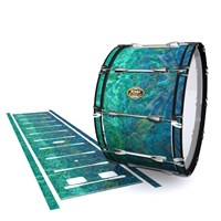 Tama Marching Bass Drum Slip - Aquamarine Blue Pearl (Aqua)
