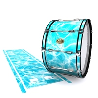 Tama Marching Bass Drum Slip - Aquatic Refraction (Themed)