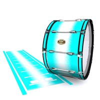 Tama Marching Bass Drum Slip - Aqua Wake (Aqua)