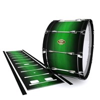 Tama Marching Bass Drum Slip - Asparagus Stain Fade (Green)