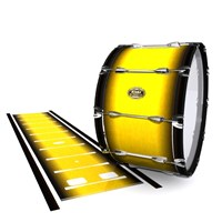 Tama Marching Bass Drum Slip - Aureolin Fade (Yellow)