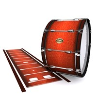 Tama Marching Bass Drum Slip - Autumn Fade (Orange)