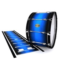 Tama Marching Bass Drum Slip - Azure Stain Fade (Blue)