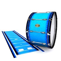 Tama Marching Bass Drum Slip - Bermuda Blue (Blue)