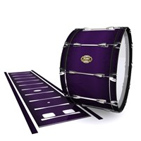 Tama Marching Bass Drum Slip - Black Cherry (Purple)