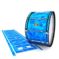 Tama Marching Bass Drum Slip - Blue Cosmic Glass (Blue)