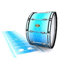 Tama Marching Bass Drum Slip - Blue Ice (Blue)