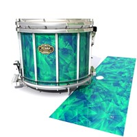 Tama Marching Snare Drum Slip - Aqua Cosmic Glass (Aqua)