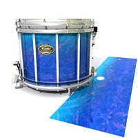 Tama Marching Snare Drum Slip - Aquatic Blue Fade (Blue)