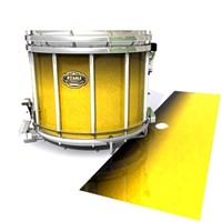 Tama Marching Snare Drum Slip - Aureolin Fade (Yellow)