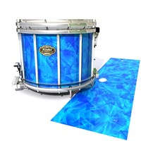Tama Marching Snare Drum Slip - Blue Cosmic Glass (Blue)