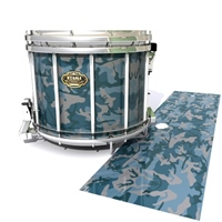 Tama Marching Snare Drum Slip - Blue Slate Traditional Camouflage (Blue)