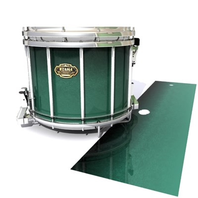 Tama Marching Snare Drum Slip - Deep Viridian Fade (Green)