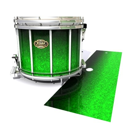 Tama Marching Snare Drum Slip - Emerald Fade (Green)