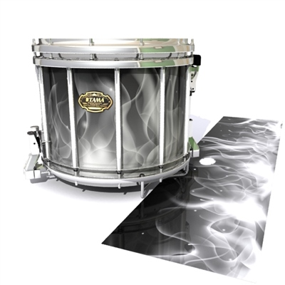 Tama Marching Snare Drum Slip - Grey Flames (Themed)