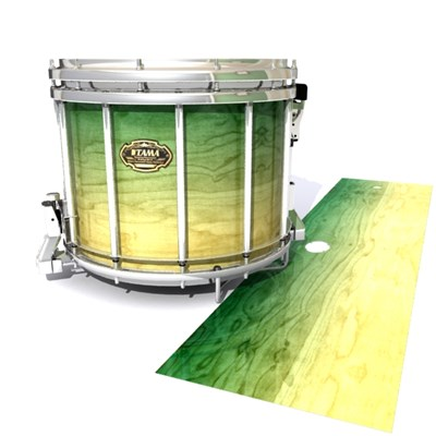 Tama Marching Snare Drum Slip - Jungle Stain Fade (Green)