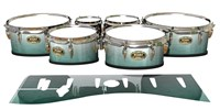 Tama Marching Tenor Drum Slips - Alpine Fade (Green)