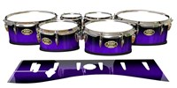 Tama Marching Tenor Drum Slips - Amethyst Haze (Purple)