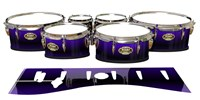 Tama Marching Tenor Drum Slips - Antimatter (Purple)