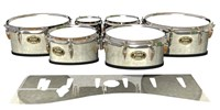Tama Marching Tenor Drum Slips - Antique Atlantic Pearl (Neutral)