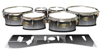 Tama Marching Tenor Drum Slips - Arctic Night Fade (Neutral)