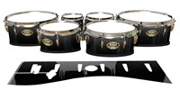 Tama Marching Tenor Drum Slips - Asphalt (Neutral)