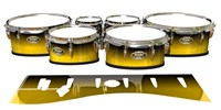 Tama Marching Tenor Drum Slips - Aureolin Fade (Yellow)
