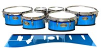 Tama Marching Tenor Drum Slips - Bermuda Blue (Blue)