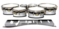 Tama Marching Tenor Drum Slips - Black Magic Fade (Neutral)