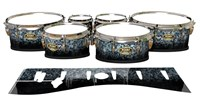 Tama Marching Tenor Drum Slips - Blue Ridge Graphite (Neutral)