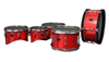 Yamaha 2000 Series Drum Slips (Kindergarten) - Bright Red