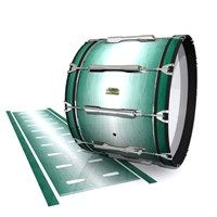 Yamaha 8200 Field Corps Bass Drum Slip - Alpine Fade (Green)